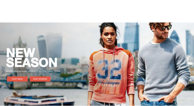 Superdry Smashing Great....Spring Has Sprung!